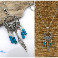 Chandelier Necklace Boho Style