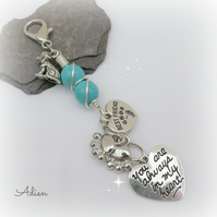 Always in my Heart Dog Charm