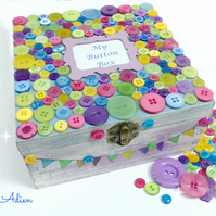 Button Box, Can be Personalised