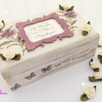 Trinket Box for Friend, Mother, Sister, Daughter etc