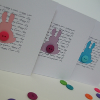 Easter Card - Easter Bunnies