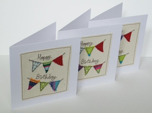 Birthday Bunting Birthday Card