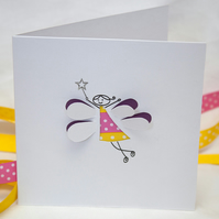 Fairy Card - Hand Cut Fairy