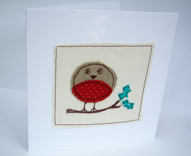 Christmas Card - Christmas Robin Card