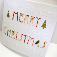 Personalised Christmas Card
