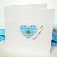 Mother's Day Card, Mothers Day Card - Heart