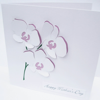 Mother's Day Card - Orchids