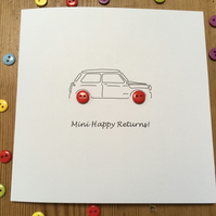 Mini Birthday Card