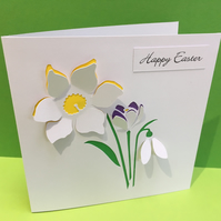 Easter Card - Spring Flowers