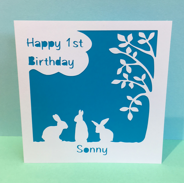 Personalised Birthday Card for a Child