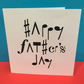 Music Father's Day Card- Fathers Day Card