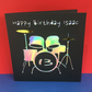 Personalised Drums Birthday Card - Drumming, Drummer