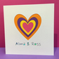 Personalised Valentine's Day - Anniversary - Wedding - Engagement Card