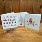 Christmas cards - Set of 6