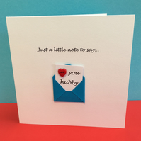 Valentine's Day Card Husband - For him
