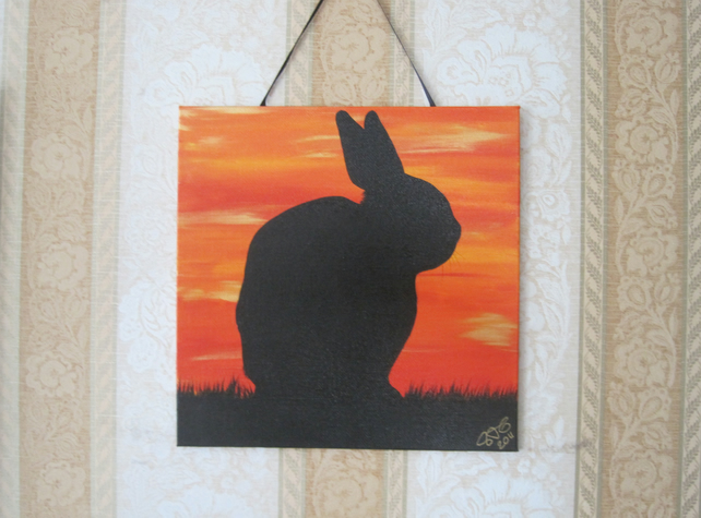 Rabbit Painting