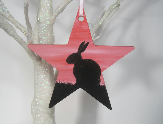 Rabbit Star Bunny Hanging Decoration