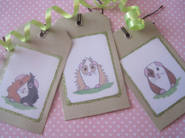 Gift Tags with Guinea Pigs