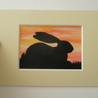 ACEO Bunny aceo