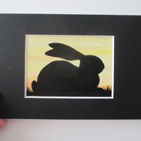 ACEO Rabbit aceo