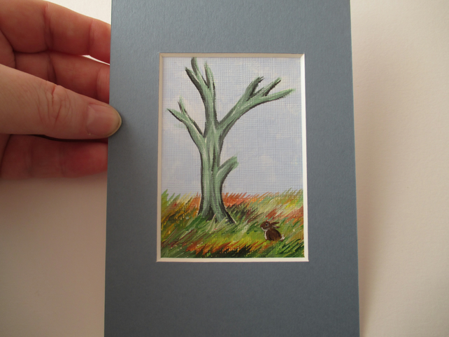 ACEO Rabbit aceo Winter