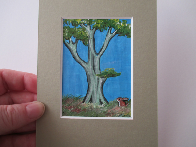 ACEO Rabbit aceo Summer
