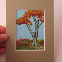ACEO Rabbit aceo Autumn
