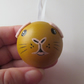 Guinea Pig Hanging Decoration Christmas Tree Bauble Wood Wooden Hand Painted
