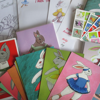 Ballet BunBuns Bumper Box of Goodies Ballet Dancing Bunny Rabbit Ballerina Dance