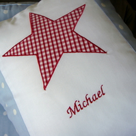 Personalised boys cushions