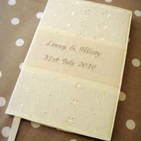 Personalised Wedding book - made to order