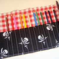 Pirate pencil roll