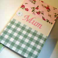 Personalised notebook - made to order