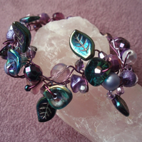 Purple Avalon Bracelet