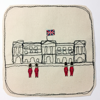 Card of London - Buckingham Palace