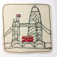 London card - Tower bridge and Gherkin