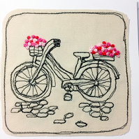 Embroidered Bicycle