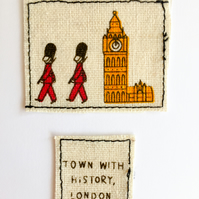 Mini London Card