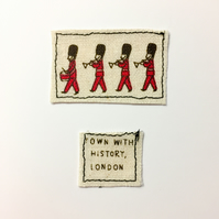 Mini Card of London - Guards