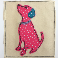 Applique Dog