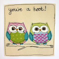 You're a Hoot !