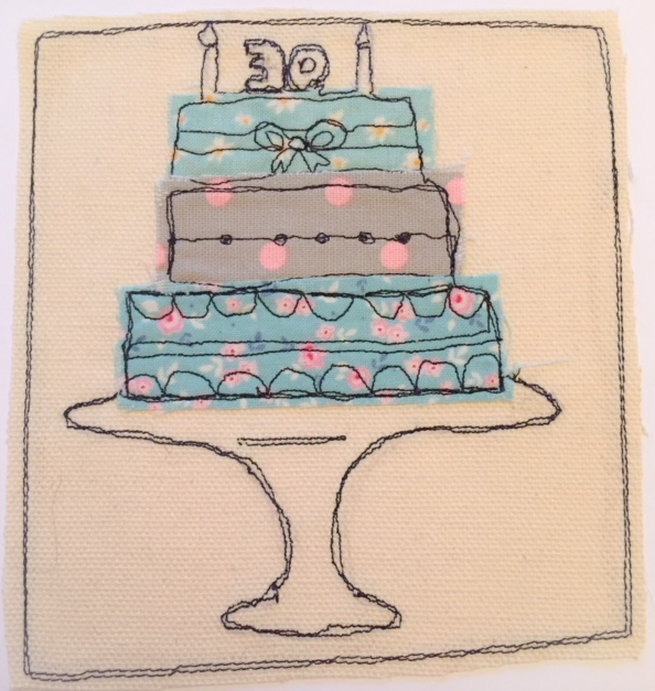 Awe Inspiring Custom 30Th Birthday Cake Folksy Personalised Birthday Cards Paralily Jamesorg
