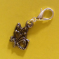 SUMMER TIME BARGAIN - Silver Plated Butterfly Charm with Lobster Catch.