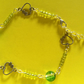 "SUMMER TIME BARGAIN - ""Amy"" Green Bracelet."