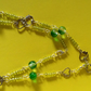 "SUMMER TIME BARGAIN - ""Amy"" Green Necklace"