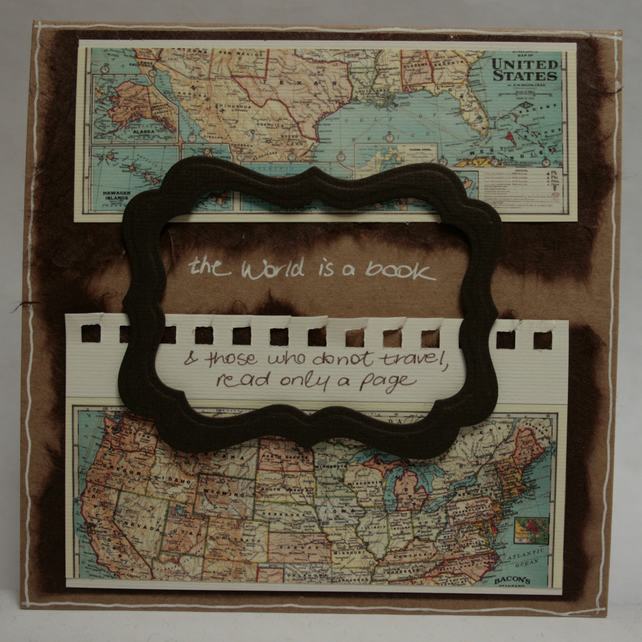 Bon Voyage Antique Map