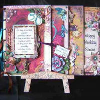 Made To Order Scrapbook Style Memory Book Birthday Wedding Anniversary
