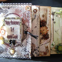 Made To Order Scrapbook Style Memory Keepsake Card Book