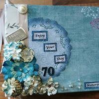 Made To Order Scrapbook Style Memory Keepsake Book Mini Album