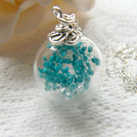 Babies Breath Flower Necklace